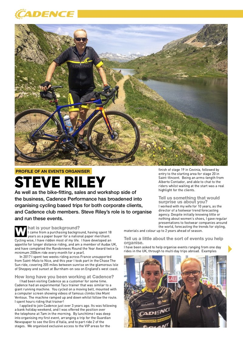 Steve Riley Profile